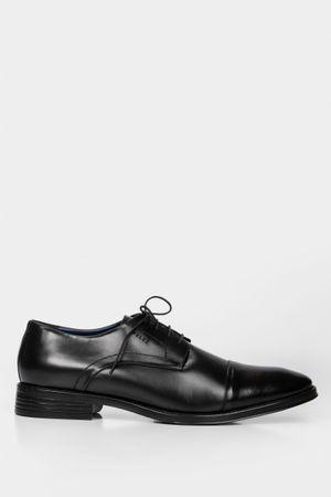 Zapatos cordón Derby de cuero office