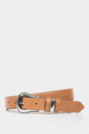 Cinturón unifaz crisia de cuero pasador metálico