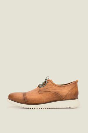 Zapatos cordón verve de cuero