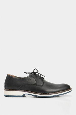 Zapatos cordón rambla de cuero para hombre vintage